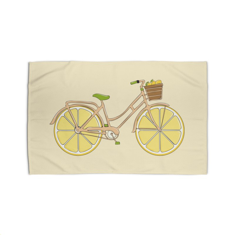 Lemon Ride Home Rug by GED WORKS