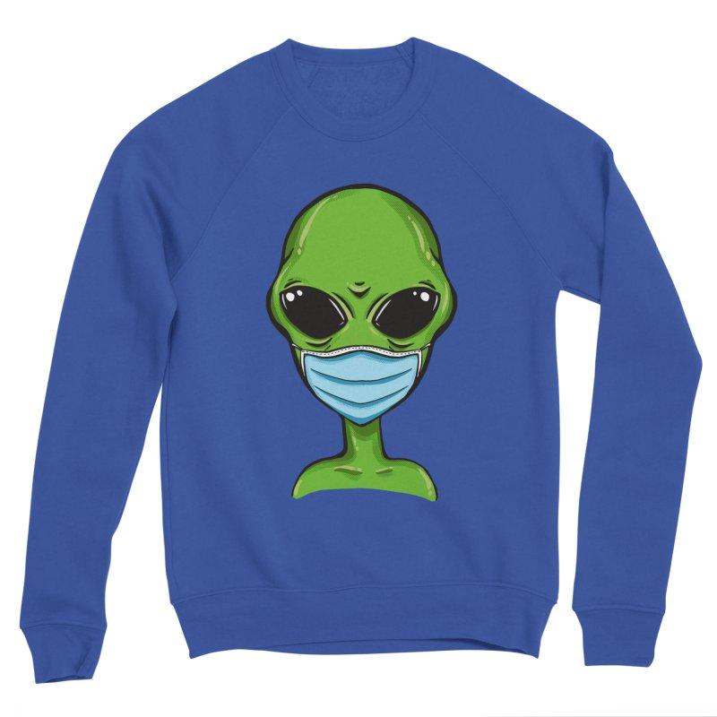 Alien Pro-Facemask Men's Sweatshirt by GED WORKS