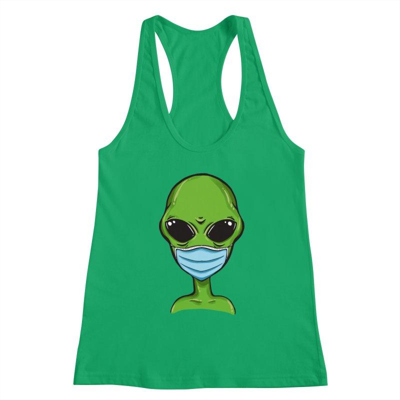 Alien Pro-Facemask Women's Tank by GED WORKS