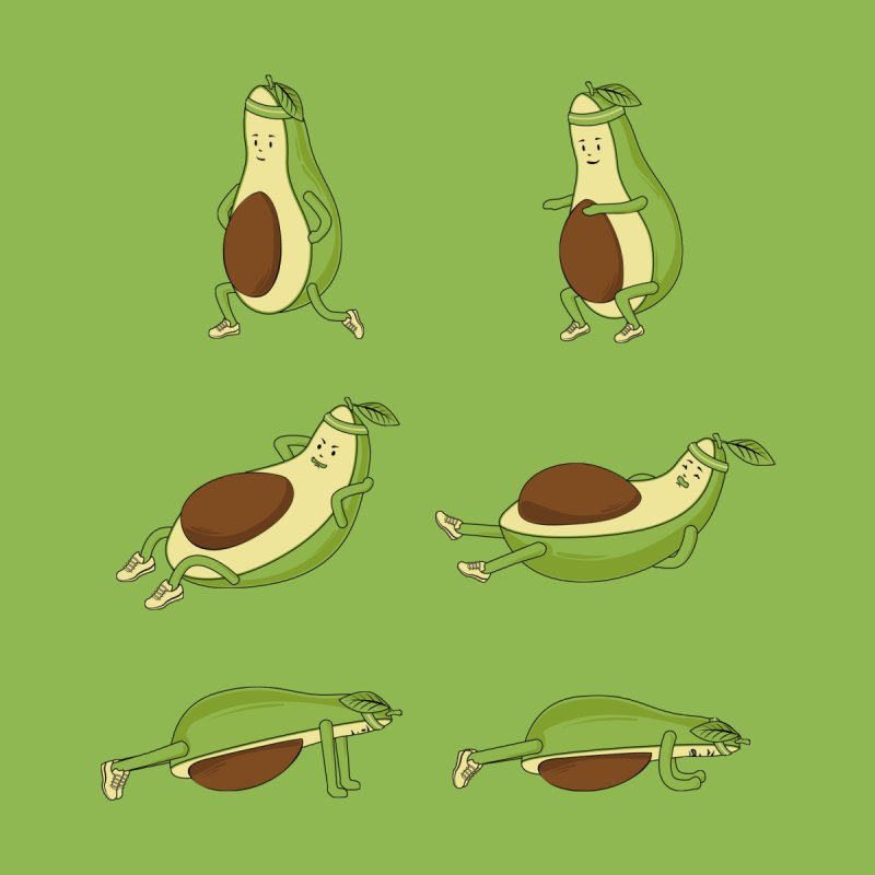 Avocado Core Workout None  by GED WORKS