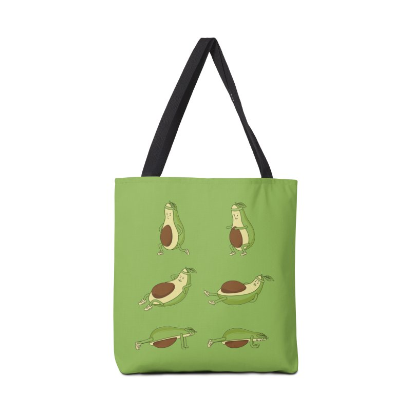 Avocado Core Workout Accessories Tote Bag Bag by GED WORKS