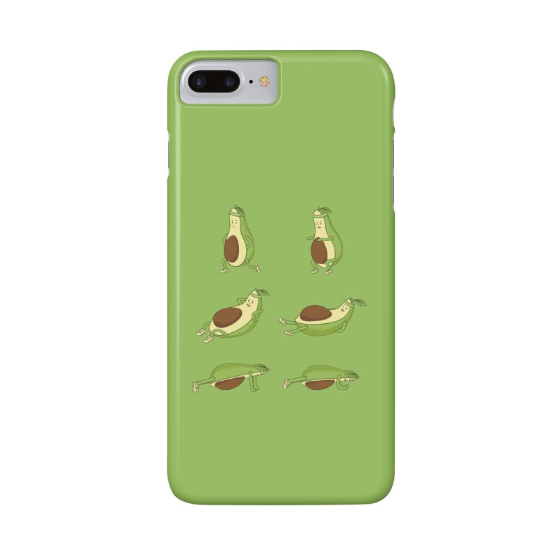 Avocado Core Workout Accessories Phone Case by GED WORKS