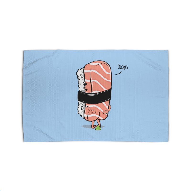 Sushi Poops Wasabi Home Rug by GED WORKS