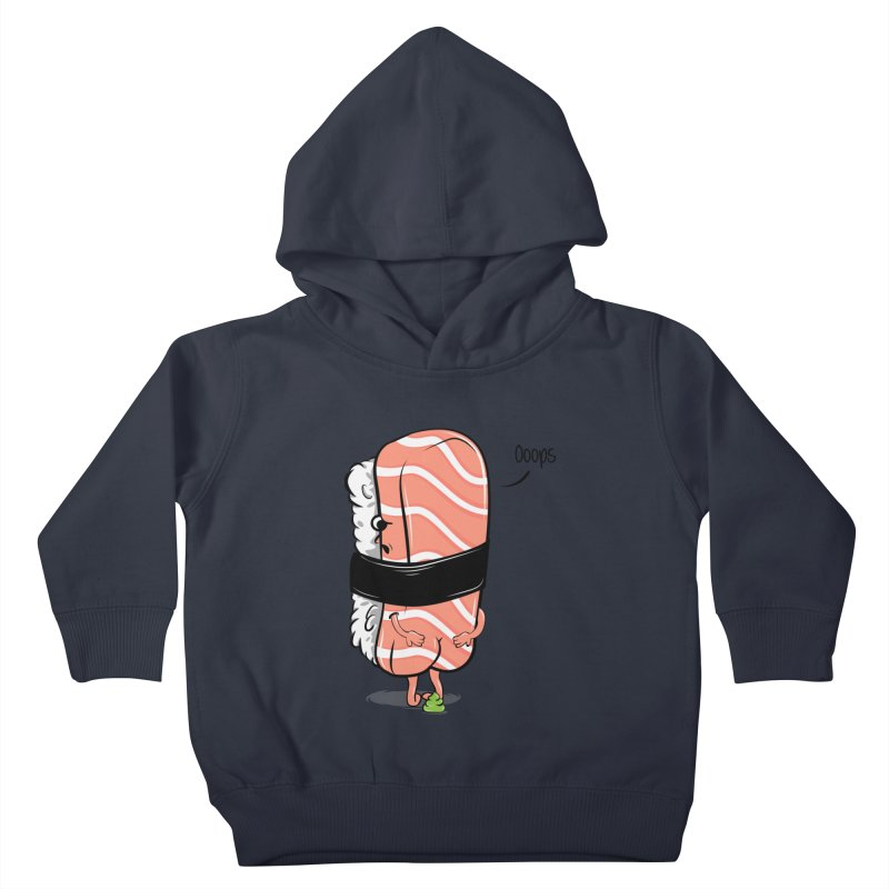 Sushi Poops Wasabi Kids Toddler Pullover Hoody by GED WORKS