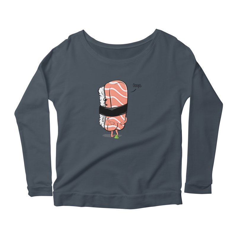 Sushi Poops Wasabi Women's Longsleeve T-Shirt by GED WORKS