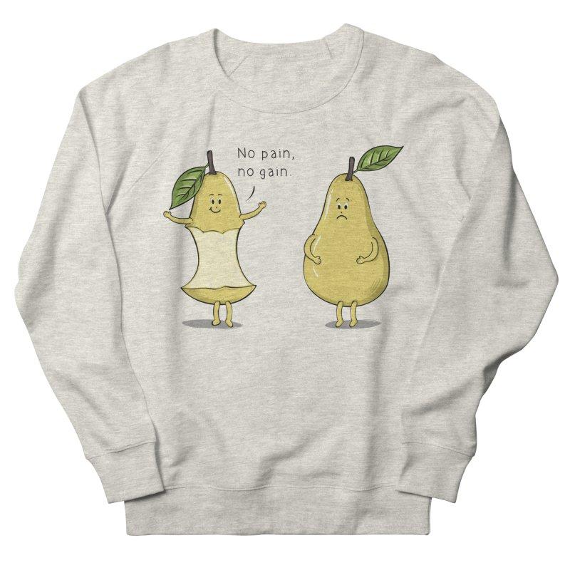 No Pain No Gain Men's Sweatshirt by GED WORKS