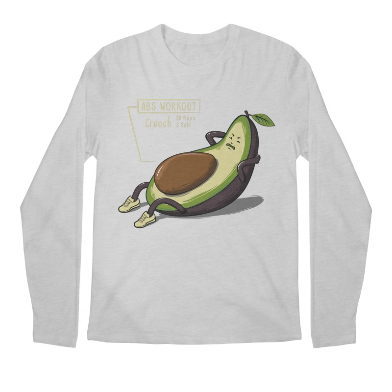 AVOCADO CORE WORKOUT Men's Longsleeve T-Shirt by GED WORKS