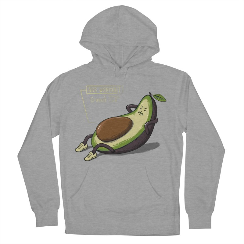 AVOCADO CORE WORKOUT Men's French Terry Pullover Hoody by GED WORKS