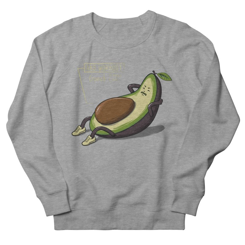 AVOCADO CORE WORKOUT Women's French Terry Sweatshirt by GED WORKS