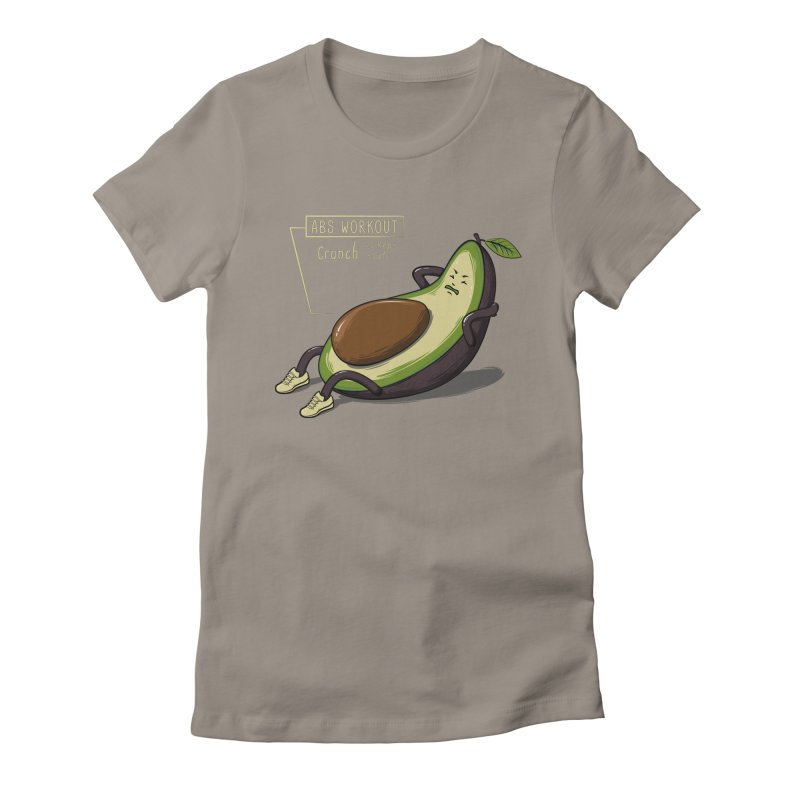 AVOCADO CORE WORKOUT Women's T-Shirt by GED WORKS
