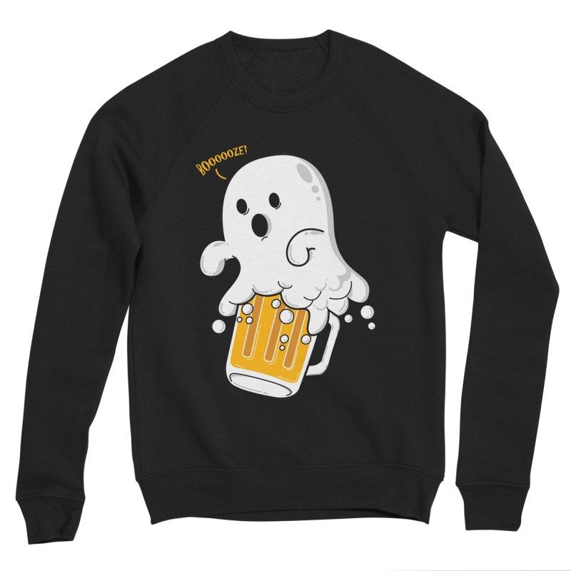 We Want Boooooze! Men's Sponge Fleece Sweatshirt by GED WORKS