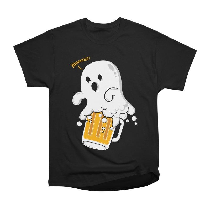 We Want Boooooze! Men's Heavyweight T-Shirt by GED WORKS