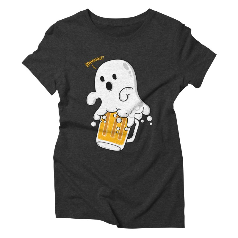 We Want Boooooze! Women's Triblend T-Shirt by GED WORKS