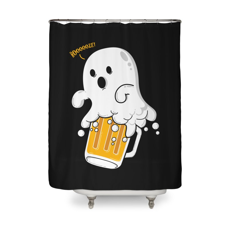 We Want Boooooze! Home Shower Curtain by GED WORKS
