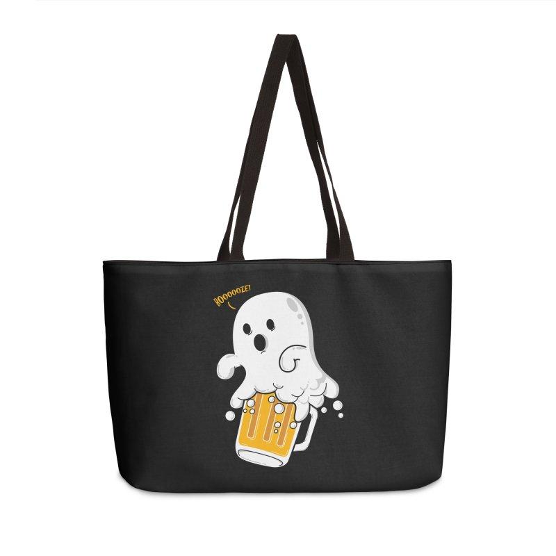 We Want Boooooze! Accessories Weekender Bag Bag by GED WORKS