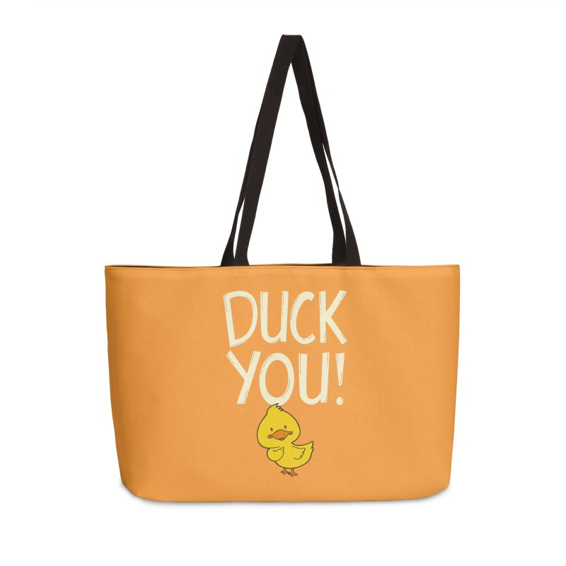 Duck You Accessories Bag by GED WORKS