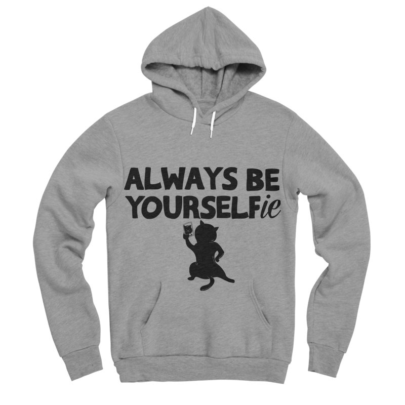 Be Yourselfie Men's Sponge Fleece Pullover Hoody by GED WORKS