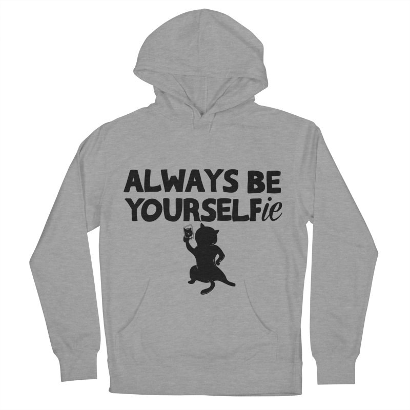 Be Yourselfie Men's French Terry Pullover Hoody by GED WORKS