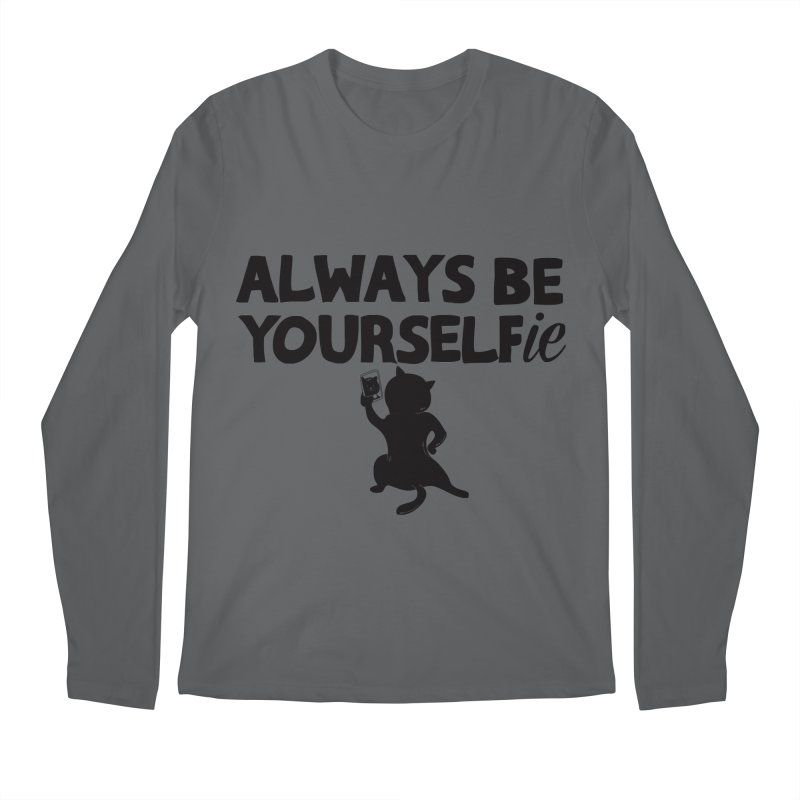 Be Yourselfie Men's Regular Longsleeve T-Shirt by GED WORKS
