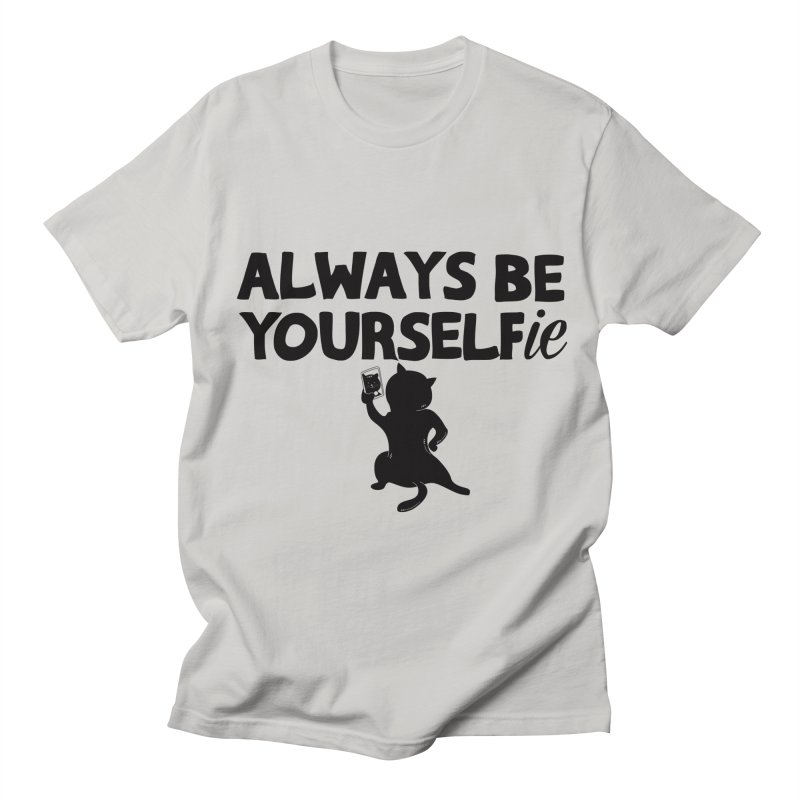 Be Yourselfie Men's Regular T-Shirt by GED WORKS