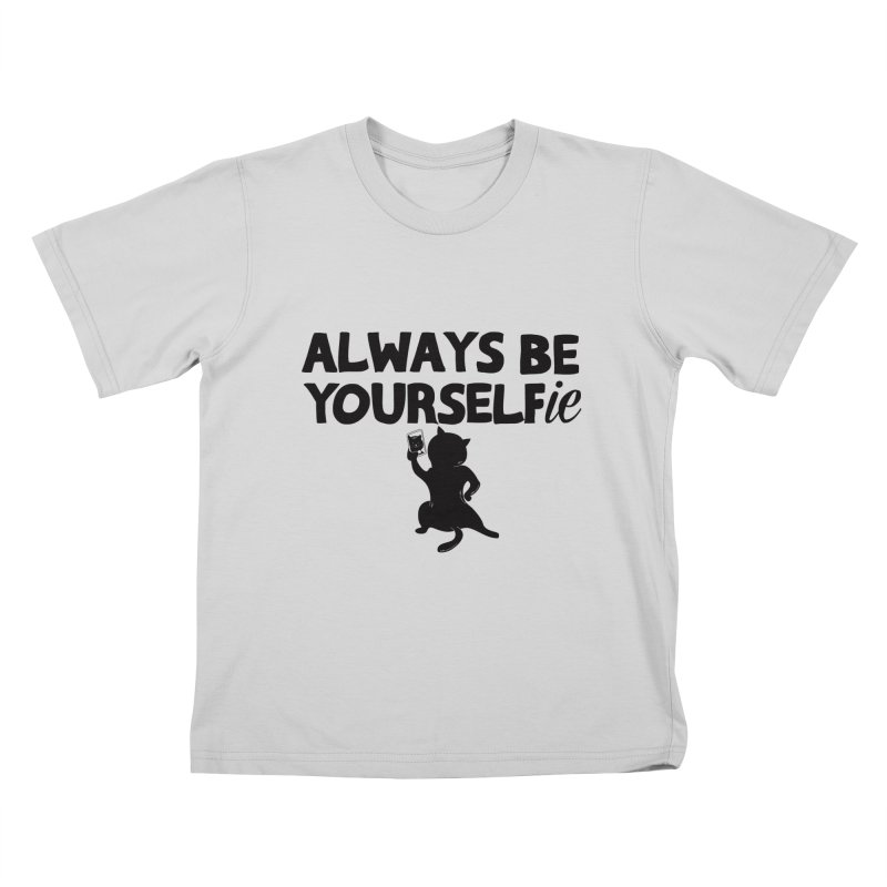 Be Yourselfie Kids T-Shirt by GED WORKS