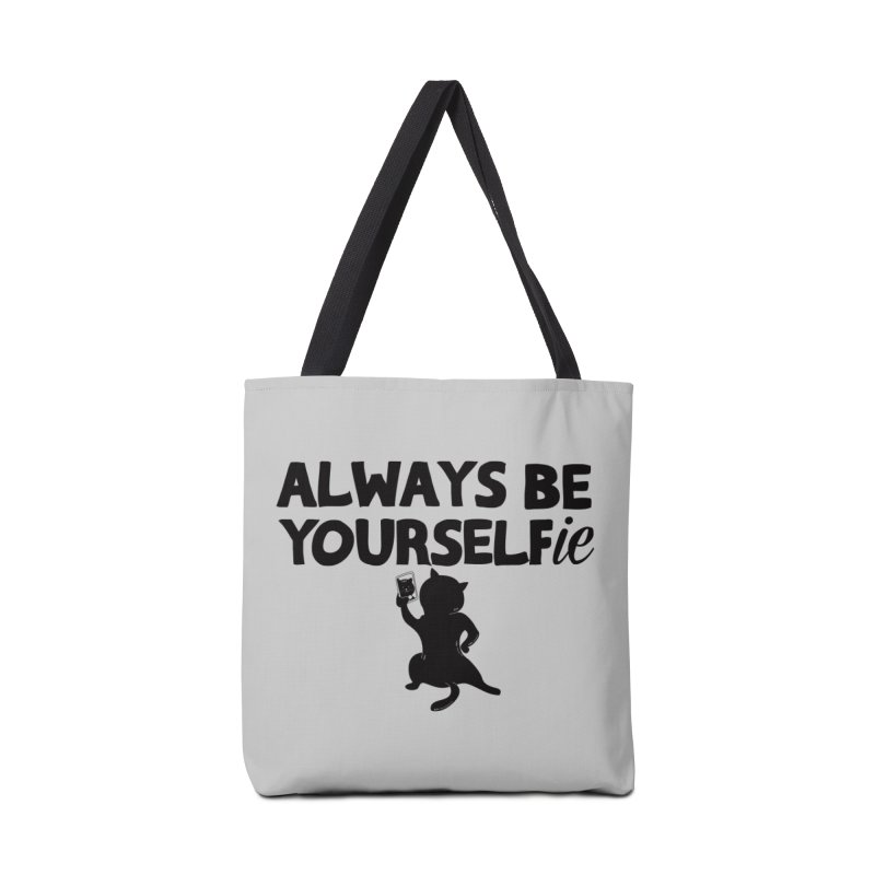 Be Yourselfie Accessories Tote Bag Bag by GED WORKS
