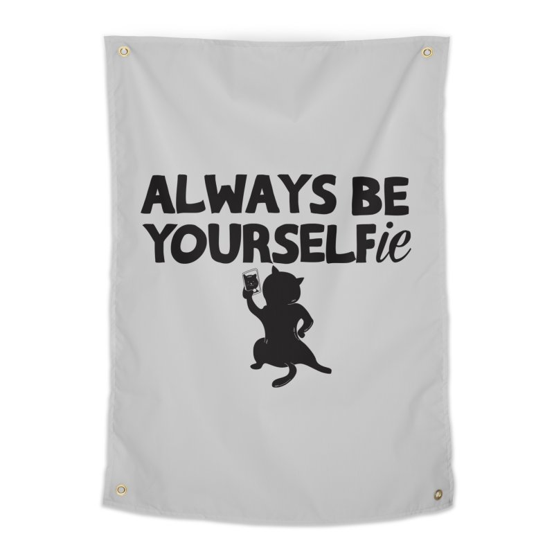Be Yourselfie Home Tapestry by GED WORKS