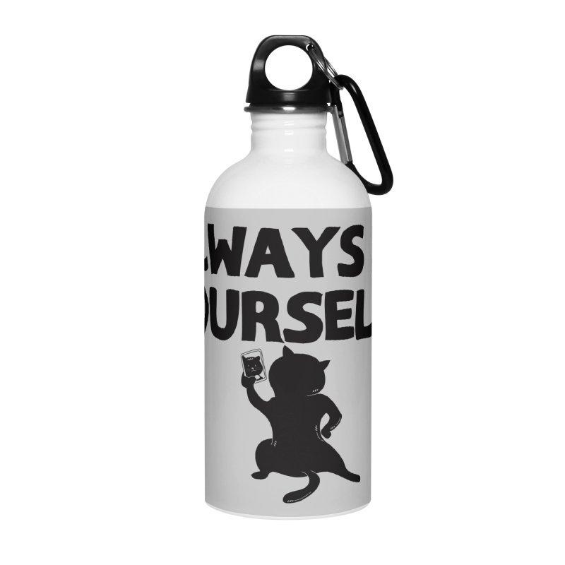Be Yourselfie Accessories Water Bottle by GED WORKS