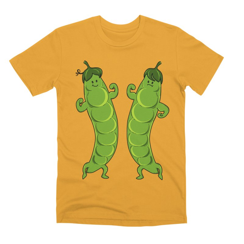 Peas Gymbuff Men's Premium T-Shirt by GED WORKS