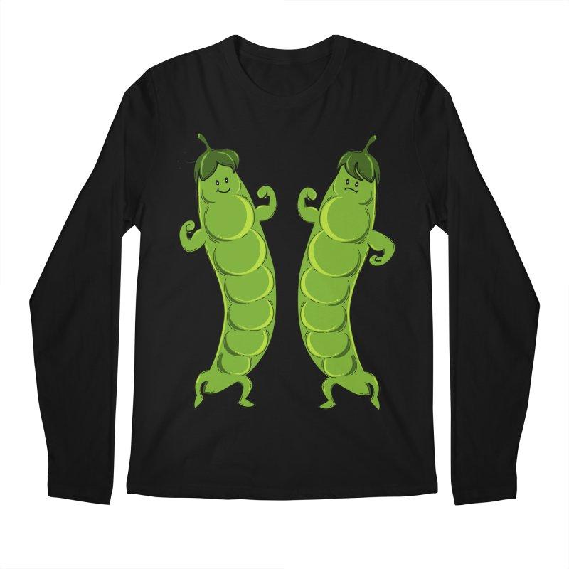 Peas Gymbuff Men's Regular Longsleeve T-Shirt by GED WORKS