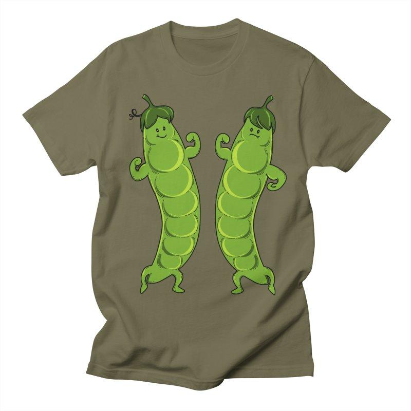 Peas Gymbuff Women's Regular Unisex T-Shirt by GED WORKS