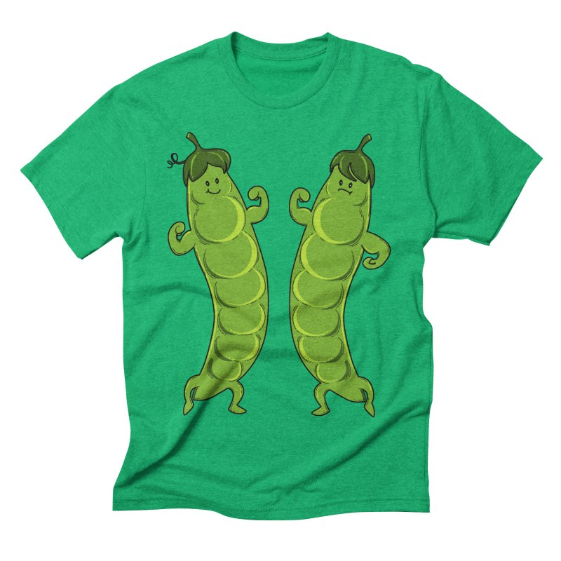 Peas Gymbuff Men's Triblend T-Shirt by GED WORKS