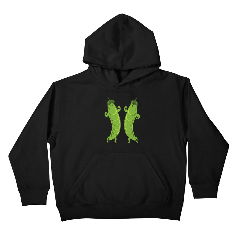 Peas Gymbuff Kids Pullover Hoody by GED WORKS