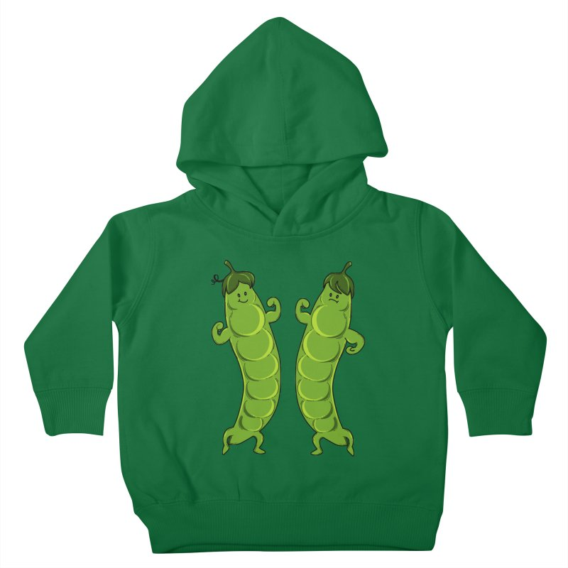 Peas Gymbuff Kids Toddler Pullover Hoody by GED WORKS
