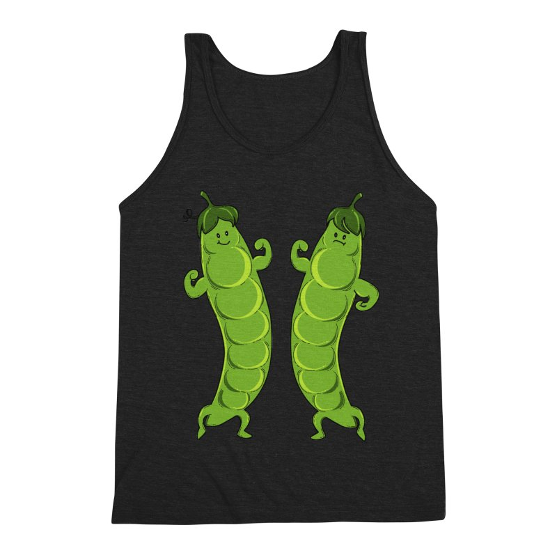 Peas Gymbuff Men's Triblend Tank by GED WORKS