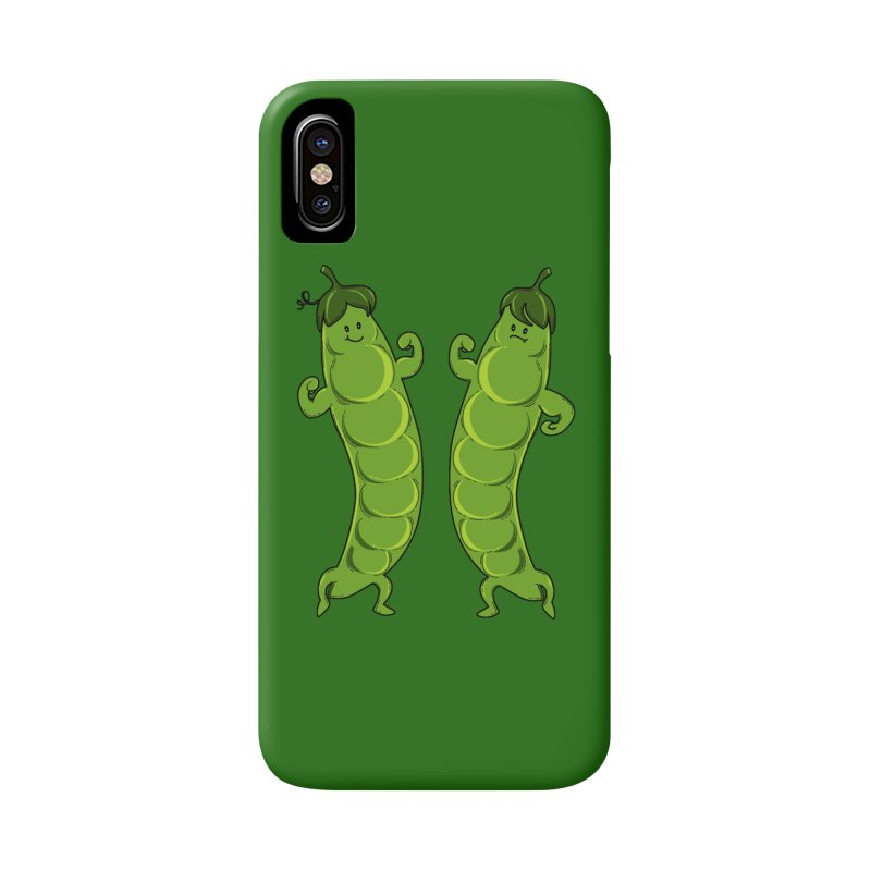 Peas Gymbuff Accessories Phone Case by GED WORKS
