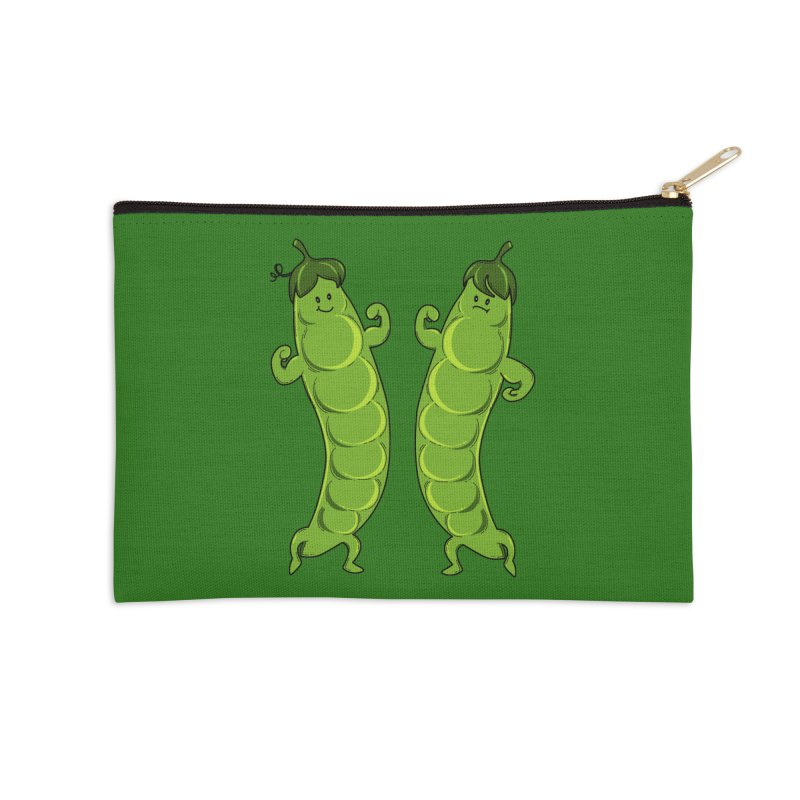 Peas Gymbuff Accessories Zip Pouch by GED WORKS