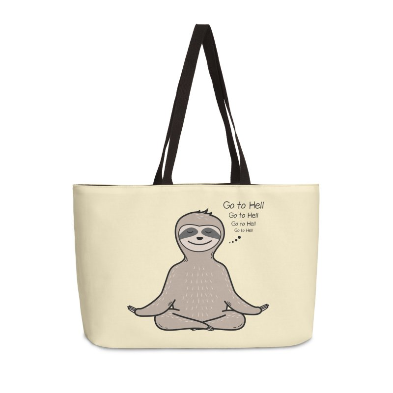 Sloth Meditation Accessories Bag by GED WORKS