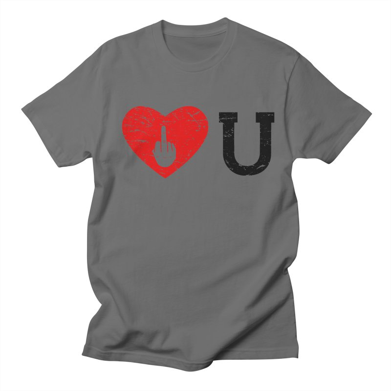 Love You Men's T-Shirt by GED WORKS