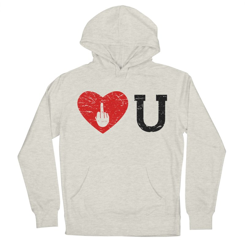 Love You Men's French Terry Pullover Hoody by GED WORKS
