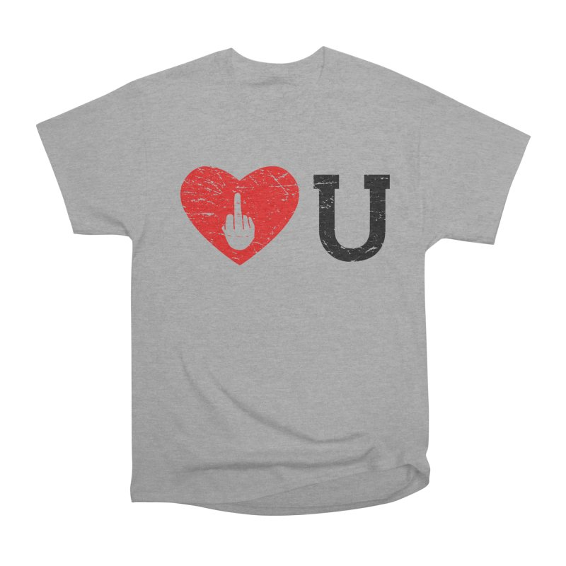 Love You Women's Heavyweight Unisex T-Shirt by GED WORKS