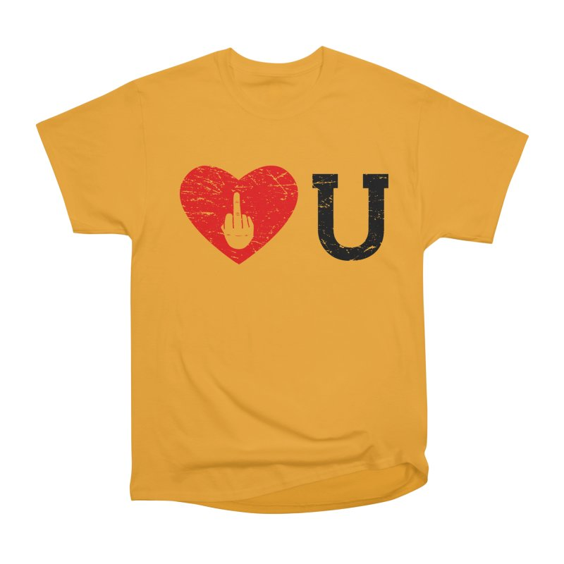 Love You Men's Heavyweight T-Shirt by GED WORKS