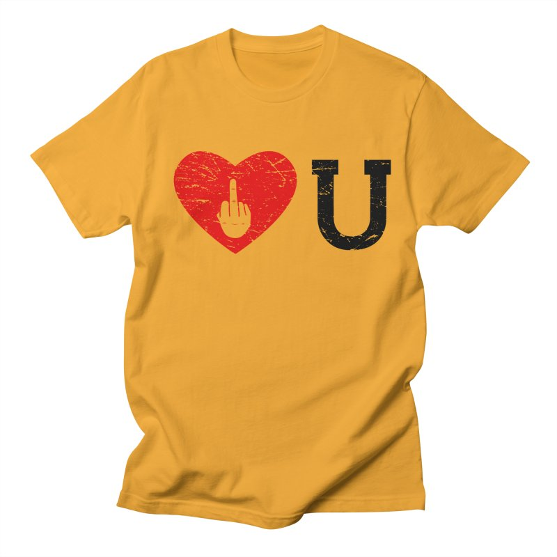 Love You Women's Regular Unisex T-Shirt by GED WORKS