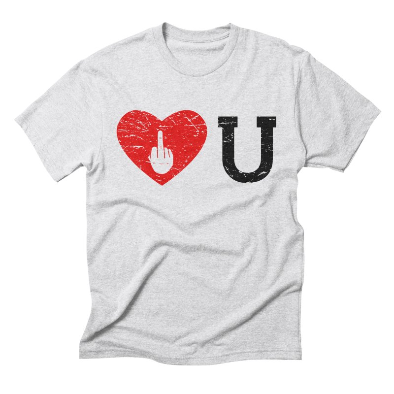 Love You Men's Triblend T-Shirt by GED WORKS
