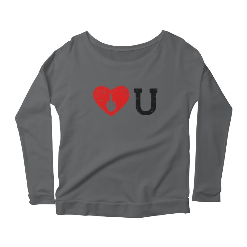 Love You Women's Longsleeve T-Shirt by GED WORKS