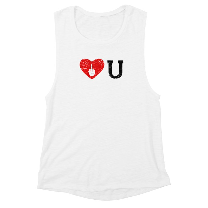 Love You Women's Muscle Tank by GED WORKS