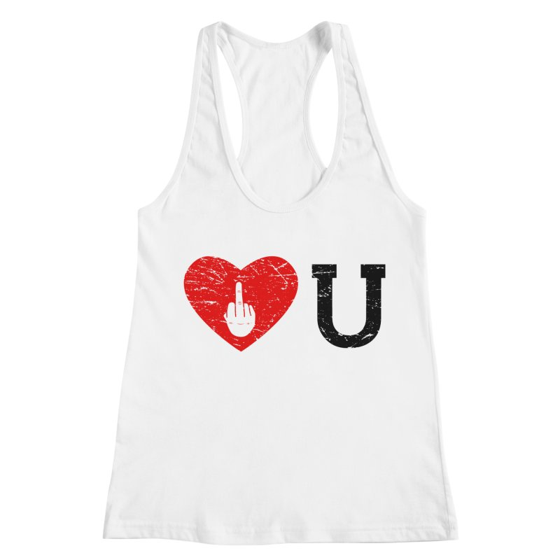 Love You Women's Racerback Tank by GED WORKS