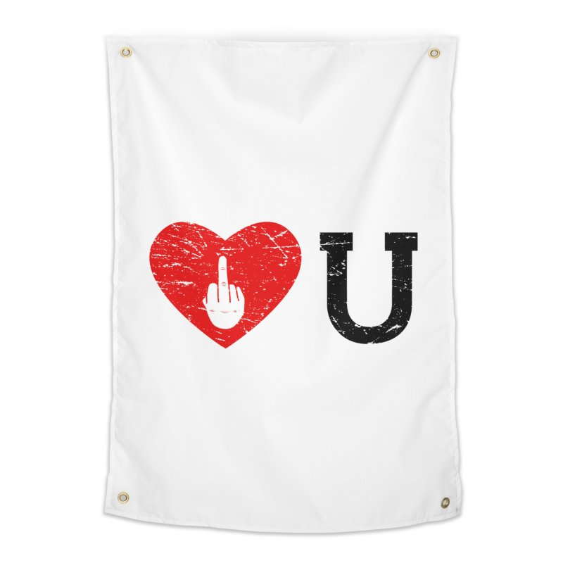 Love You Home Tapestry by GED WORKS