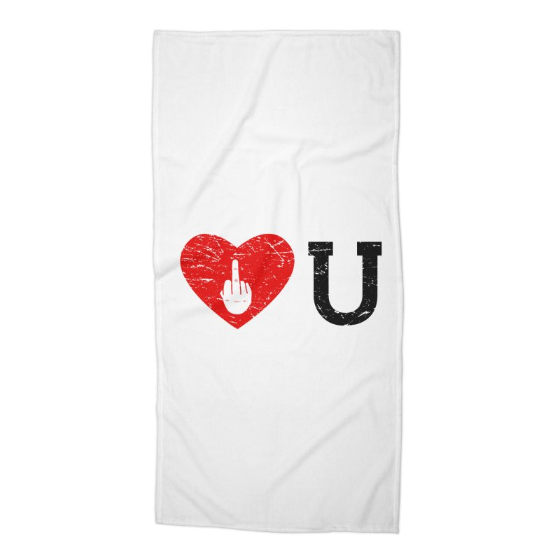 Love You Accessories Beach Towel by GED WORKS