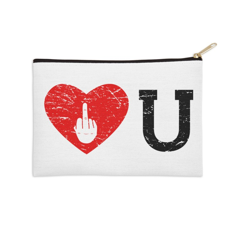 Love You Accessories Zip Pouch by GED WORKS